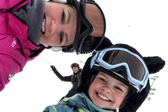 Skiurlaub Familie