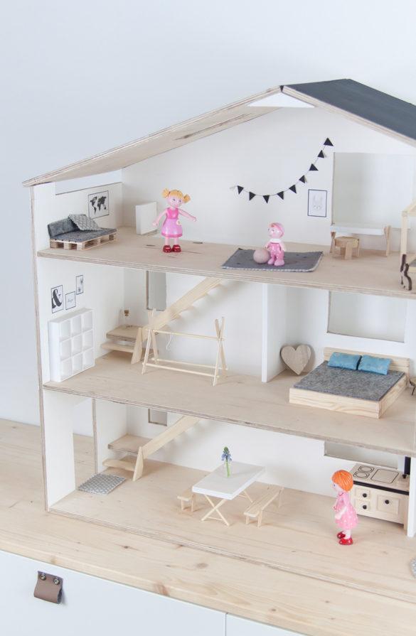 Puppenhaus Skandi selberbauen