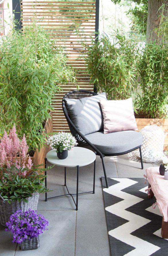 DIY Sichtschutz für die Terrasse