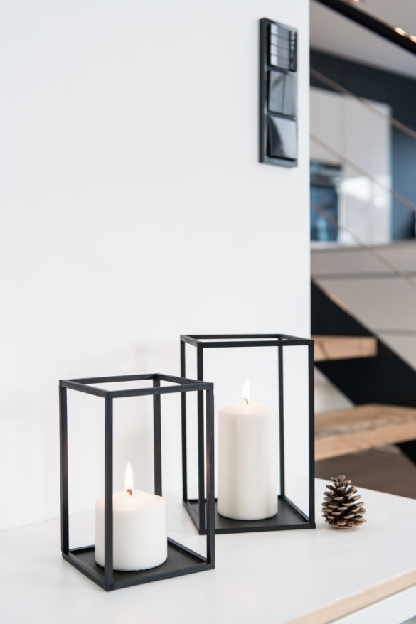 DIY Kerzenhalter Quader