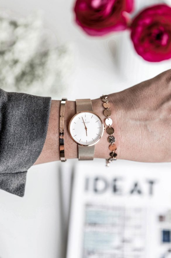 Uhr skandinavisches Design Nordgreen