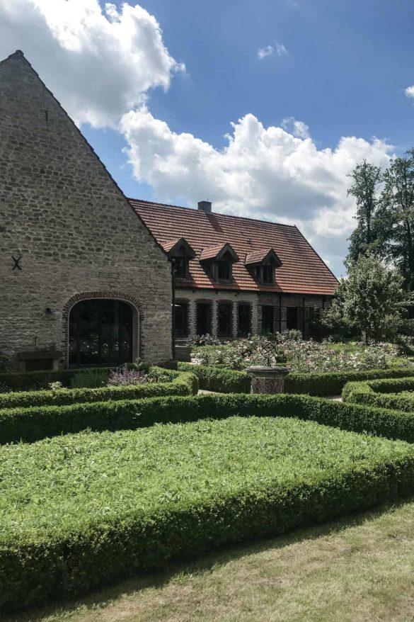 renovierter Gutshof