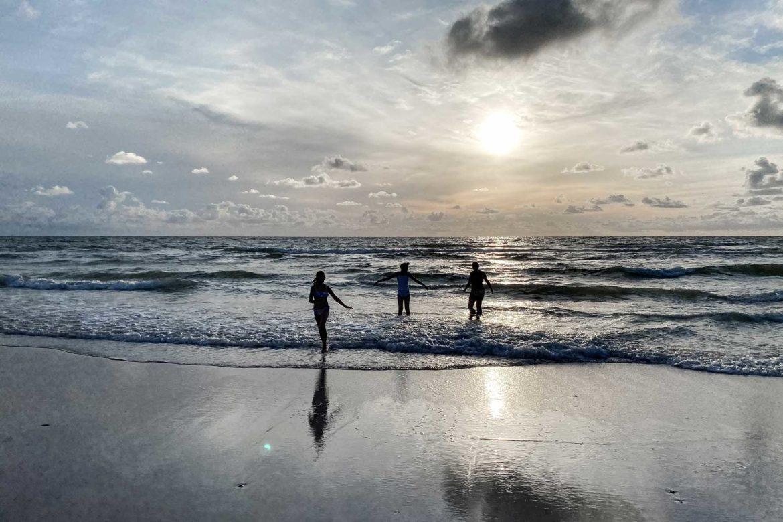 Abendstimmung Strand Sylt