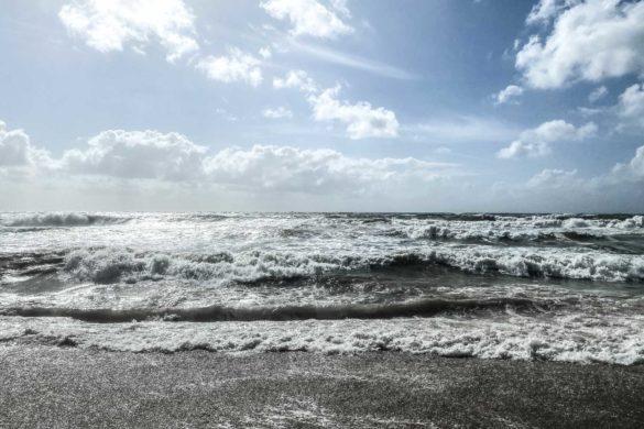 Strand bei Rantum auf Sylt