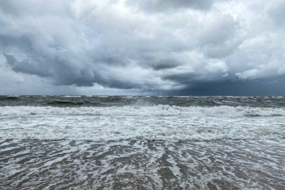 Wellen auf Sylt
