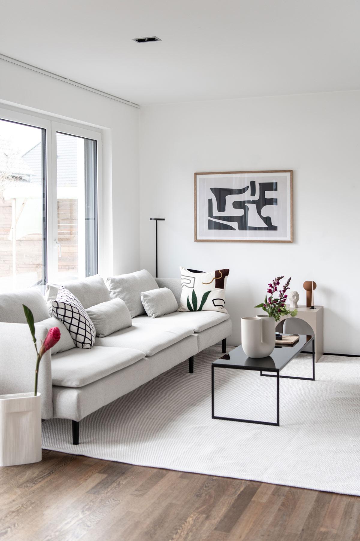 Söderhamn Sofa im Wohnzimmer