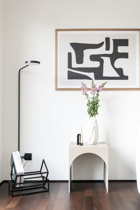 Beistelltisch Wohnzimmer Idee