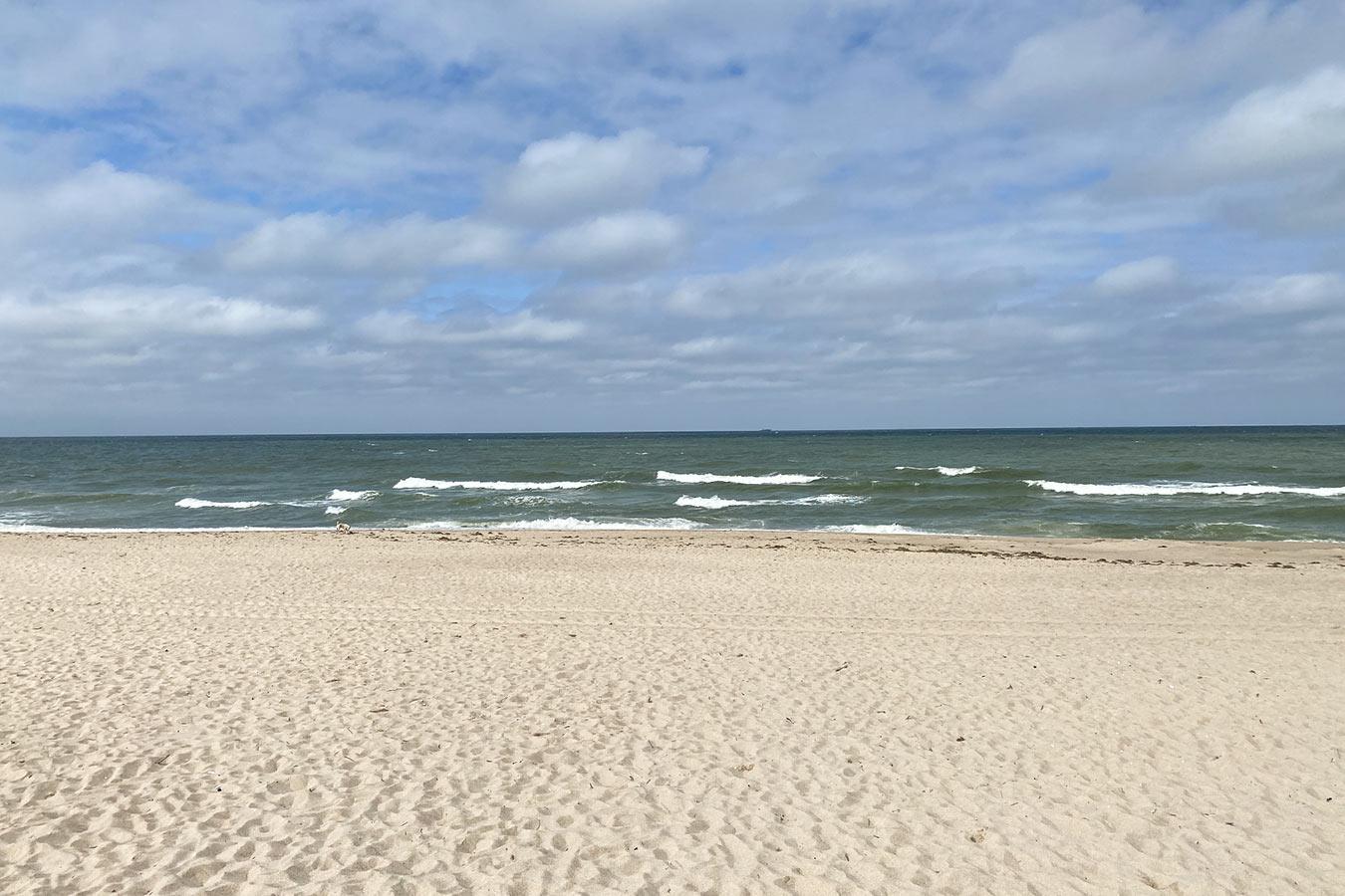 Leerer Strand auf Sylt