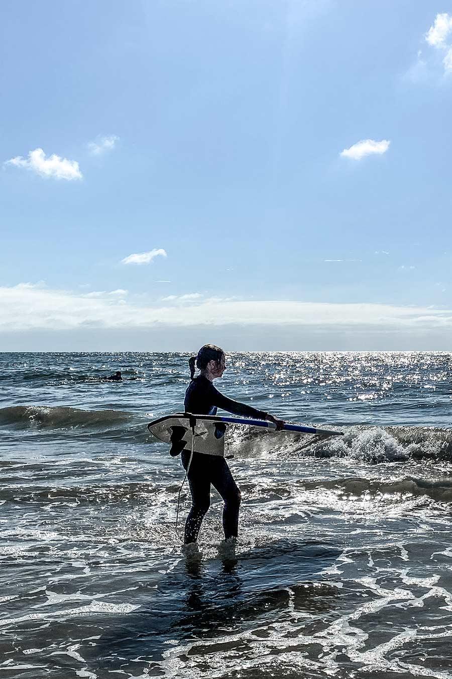 Wellenreiten Sylt Wenningstedt