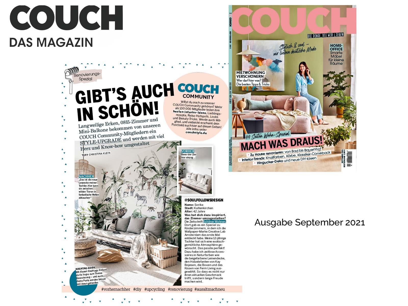 Soul follows Design Couch Magazin